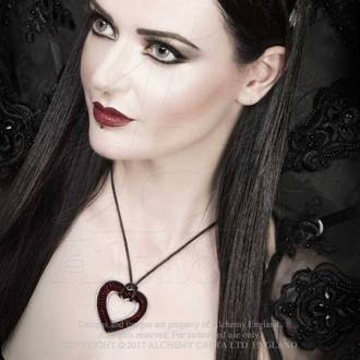 Ogrlica ALCHEMY GOTHIC - Love Over Death, ALCHEMY GOTHIC