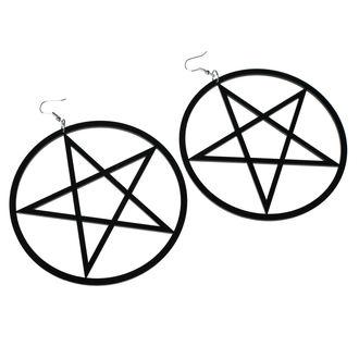 Naušnice Luciferothica - Huge Pentagram, LUCIFEROTHICA