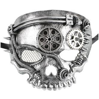 Maska ZOELIBAT - Steampunk-Halbmaske Skull, ZOELIBAT