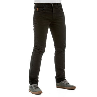 Muške hlače (traperice) MEATFLY - Riot 2, Spirit Jeans - 1/7/55, A,C - Black, MEATFLY