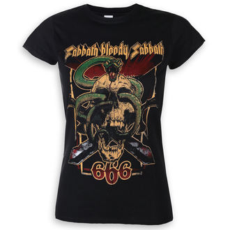 Ženska majica Black Sabbath - Bloody Sabbath 666 - ROCK OFF, ROCK OFF, Black Sabbath
