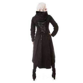 Ženski kaput POIZEN INDUSTRIES - MEMORIAL - CRNI, POIZEN INDUSTRIES