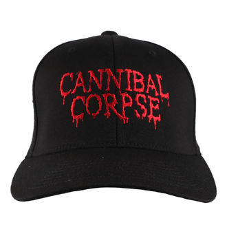 Kapa CANNIBAL CORPSE - RED - JSR, Just Say Rock, Cannibal Corpse