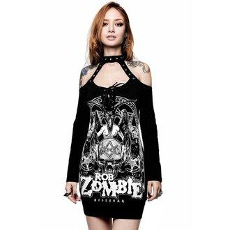 Ženska haljina KILLSTAR - ROB ZOMBIE - Trijumf - CRNA, KILLSTAR, Rob Zombie