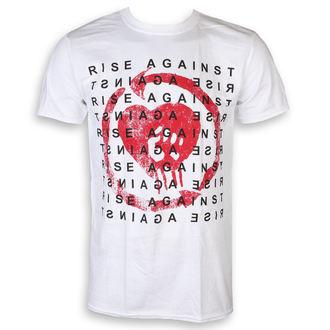 Muška majica Rise Against - Block - Bijela- KINGS ROAD, KINGS ROAD, Rise Against