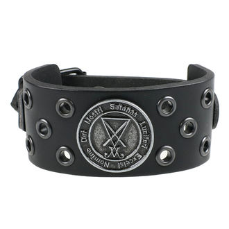 Narukvica Luciferi - ring black, JM LEATHER