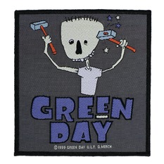 Zakrpa GREEN DAY - HAMMER FACE - RAZAMATAZ, RAZAMATAZ, Green Day