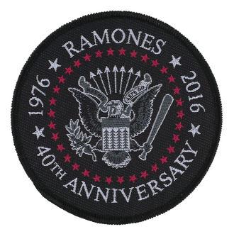Zakrpa RAMONES - 40TH ANNIVERSARY - RAZAMATAZ, RAZAMATAZ, Ramones
