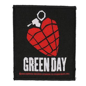 Zakrpa GREEN DAY - HEART GRENADE 1 - RAZAMATAZ, RAZAMATAZ, Green Day