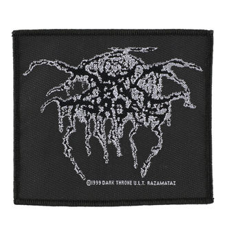 Zakrpa DARKTHRONE - LUREX LOGO - RAZAMATAZ, RAZAMATAZ, Darkthrone