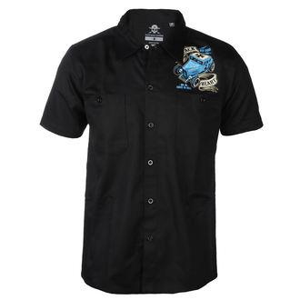 Muška košulja BLACK HEART - BH BRUISER - CRNA, BLACK HEART