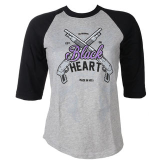 Ženska ulična majica - BH SHOT GUN - BLACK HEART, BLACK HEART