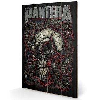Drvena slika Pantera - (&&string0&&) - PYRAMID POSTERS, PYRAMID POSTERS, Pantera