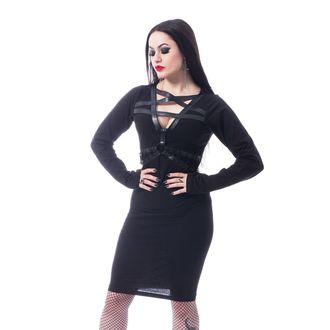Ženska haljina HEARTLESS - PENTA CURSE - BLACK, HEARTLESS