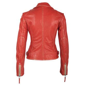Ženska bajkerska jakna GIPSY - PGG LABAGV ROT red, NNM