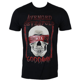 Majica metal muška Avenged Sevenfold - GODDAMN - PLASTIC HEAD, PLASTIC HEAD, Avenged Sevenfold