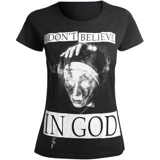 Majica hardcore ženska - I DON'T BELIEVE IN GOD - AMENOMEN, AMENOMEN