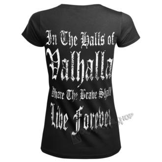Ženska majica - VIKING WARRIOR - VICTORY OR VALHALLA, VICTORY OR VALHALLA
