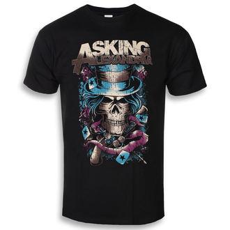 Muška metal majica Asking Alexandria - Hat Skull - ROCK OFF, ROCK OFF, Asking Alexandria