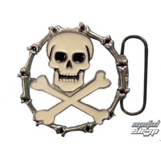 Kopča za kožni pojas Skull 35