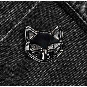 Bedž DISTURBIA - Sad Cat, DISTURBIA