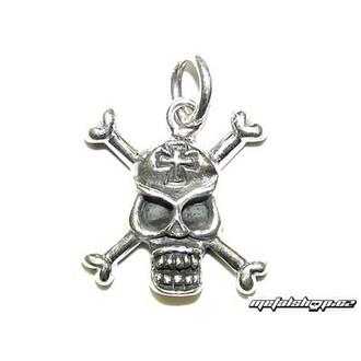 Privjesak srebrni Skull 6 (93)
