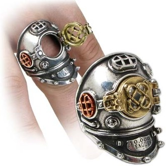 prsten 700 Fathoms - ALCHEMY GOTHIC, ALCHEMY GOTHIC