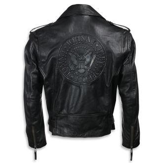 bunda pánská (křivák) Ramones - BLACK