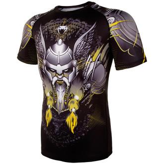 Muška termo majica Venum - Viking 2.0 Rashguard - Crna / Žuta, VENUM