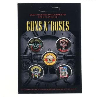 Bedževi Guns N' Roses - Bullet Logo - RAZAMATAZ, RAZAMATAZ, Guns N' Roses