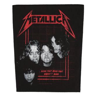 Velika zakrpa METALLICA - BANG THAT HEAD - RAZAMATAZ, RAZAMATAZ, Metallica