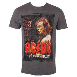 Muška metal majica AC-DC - Donington Set List - ROCK OFF, ROCK OFF, AC-DC
