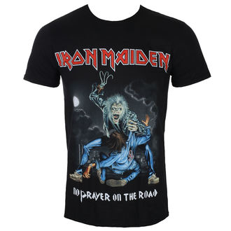 Muška majica Iron Maiden - No Prayer On The Road - Crna - ROCK OFF, ROCK OFF, Iron Maiden