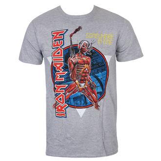 Muška majica Iron Maiden - Somewhere In Time - Siva - ROCK OFF, ROCK OFF, Iron Maiden