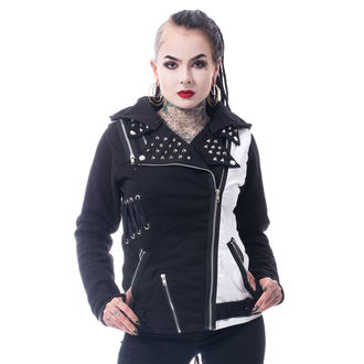 bunda dámská Vixxsin - ROCKSTAR - BLACK/WHITE