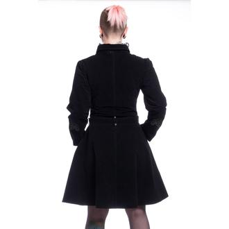 Ženski kaput POIZEN INDUSTRIES - ROZALINA - BLACK, POIZEN INDUSTRIES