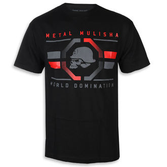 Muška ulična majica - OCTAGON BLK - METAL MULISHA, METAL MULISHA