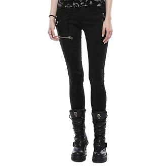 Ženske hlače (traperice) PUNK RAVE - Black Star, PUNK RAVE