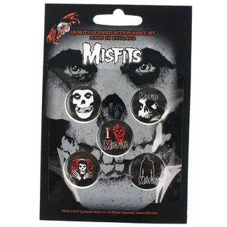 Bedževi Misfits - RAZAMATAZ, RAZAMATAZ, Misfits