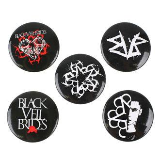 Bedževi Black Veil Brides - RAZAMATAZ, RAZAMATAZ, Black Veil Brides