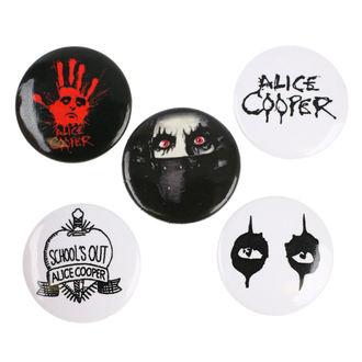 Bedževi Alice Cooper - RAZAMATAZ, RAZAMATAZ, Alice Cooper