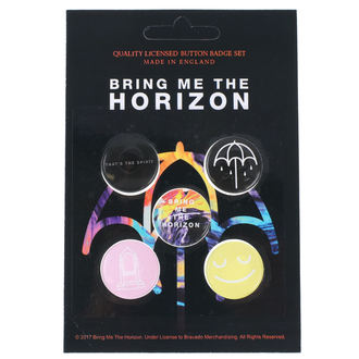 Bedževi Bring Me The Horizon - RAZAMATAZ, RAZAMATAZ, Bring Me The Horizon