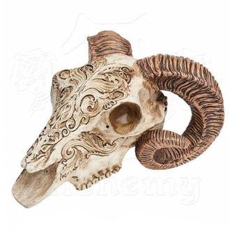 Ukras ALCHEMY GOTHIC - Skrimshaw Ram Skull, ALCHEMY GOTHIC