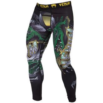Muške tajice za vježbanje VENUM - Crocodile - Crna / Zelena, VENUM