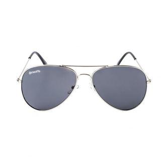 Sunčane naočale MEATFLY - SCOTT -  A  - 4/17/55 - Srebro - Black, MEATFLY