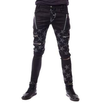 Muške hlače VIXXSIN - STAR CHAOS - BLACK, VIXXSIN