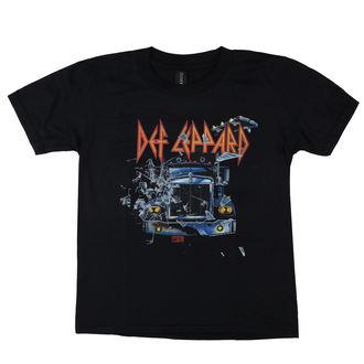 Muška metal majica Def Leppard - On through the night - LOW FREQUENCY, LOW FREQUENCY, Def Leppard