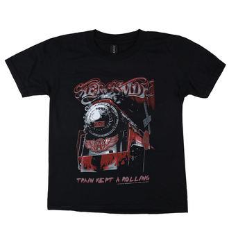 Muška metal majica Aerosmith - Train kept a going - LOW FREQUENCY, LOW FREQUENCY, Aerosmith
