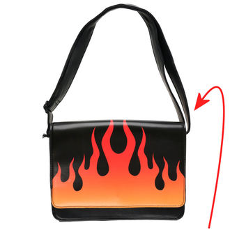 ručna torba IRON FIST - Fire Sign - Black - IFW05069 - OŠTEĆENO, IRON FIST