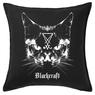 Jastuk  BLACK CRAFT - Lucifer The Cat Throw, BLACK CRAFT